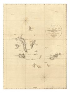 Mappa delle Galapagos
