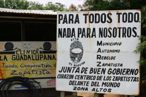 Viaggio in Chiapas , incontro con le comunità zapatiste