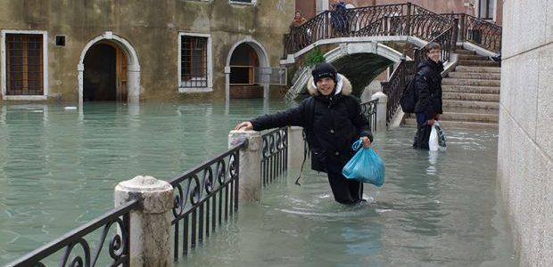 Il ruolo della subsidenza nell'acqua alta a Venezia