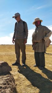 Tommaso balestrieri a  Chipaya - Bolivia