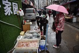 Mercato di Wuhan Cina